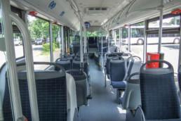 MAN Lion's City Linienbus Innenraum - Musshoff Touristik Lippstadt