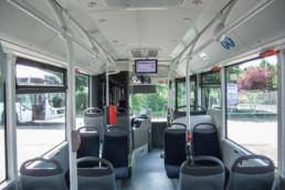MAN Lion's Regio Linienbus Innenraum - Musshoff Touristik Lippstadt