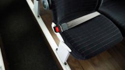 MAN Lion's Regio Reisebus Innenansicht Sitz mit Gurt - Musshoff Touristik Lippstadt