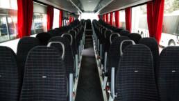 MAN Lion's Regio Reisebus Innenansicht Sitze von vorne - Musshoff Touristik Lippstadt