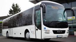 MAN Lion's Regio Reisebus Seitenansicht - Musshoff Touristik Lippstadt