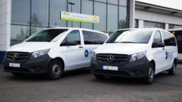 Mercedes Vito 2 Transporter Frontansicht - Musshoff Touristik Lippstadt
