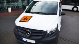 Mercedes Vito Transporter Frontansicht - Musshoff Touristik Lippstadt