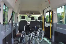 Rollstuhl in Rolli Rollstuhl-Transporter, barrierefrei - Musshoff Touristik Lippstadt