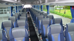 Setra S 517 HD Reisebus Innenraum - Musshoff Touristik Lippstadt